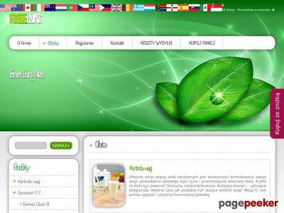 Oferta - Forever Living Products Sklep internetowy